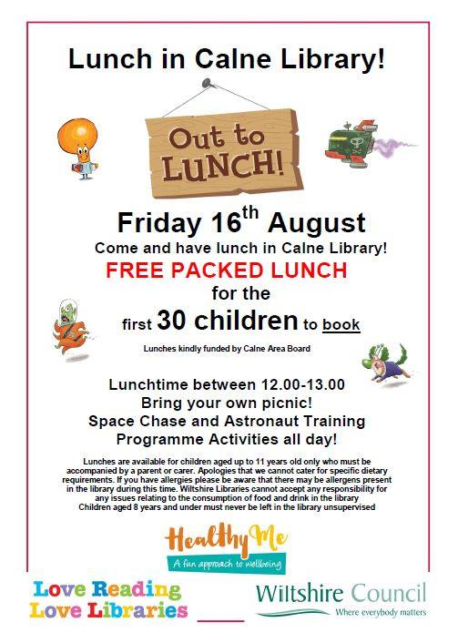 lunch calne library