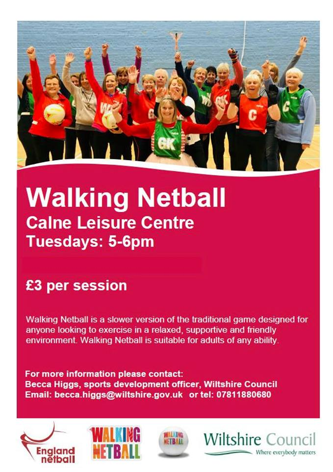 walking netball events