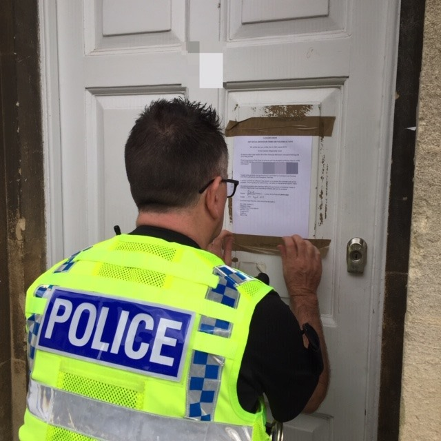 calne police closure order green