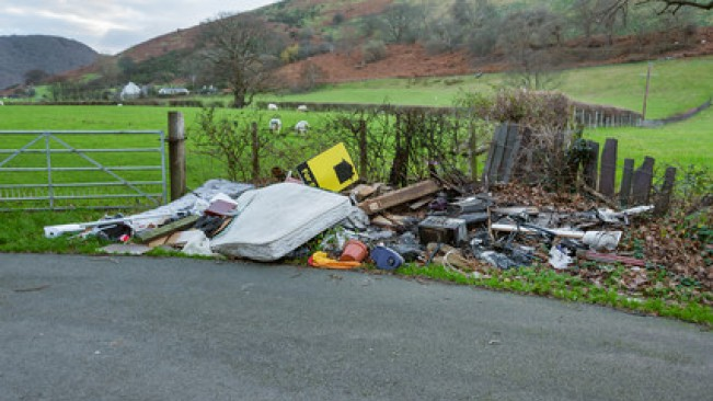 fly tipping 30 april
