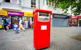 pics royal mail parcel postbox trial 2