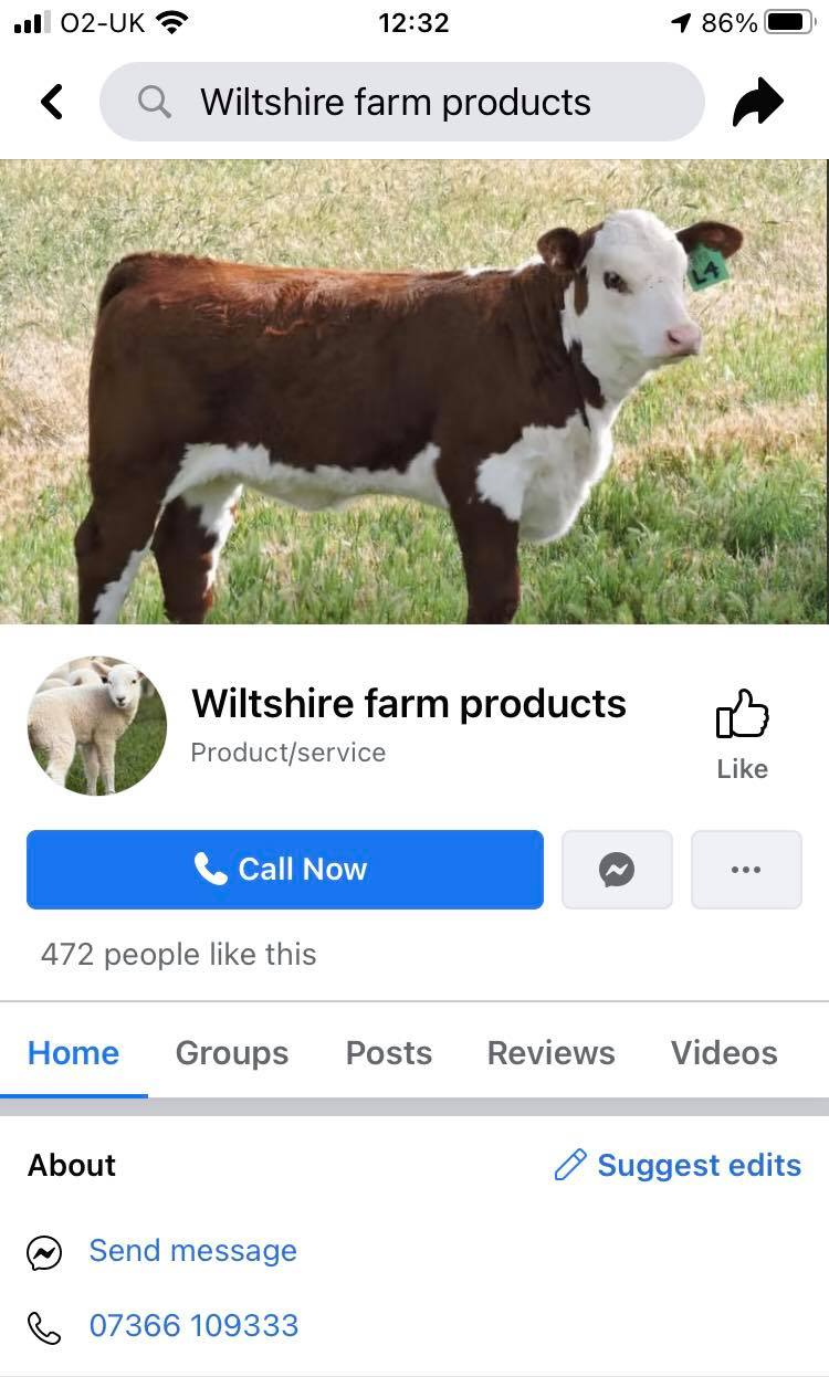 wiltshire farm products